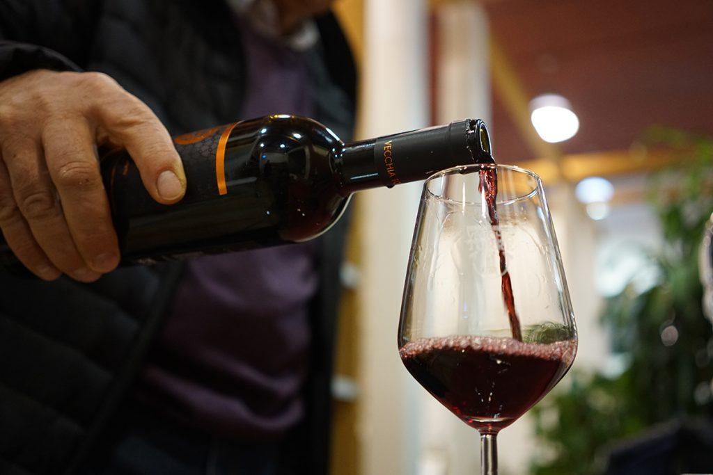vino rosso pugliese riserva